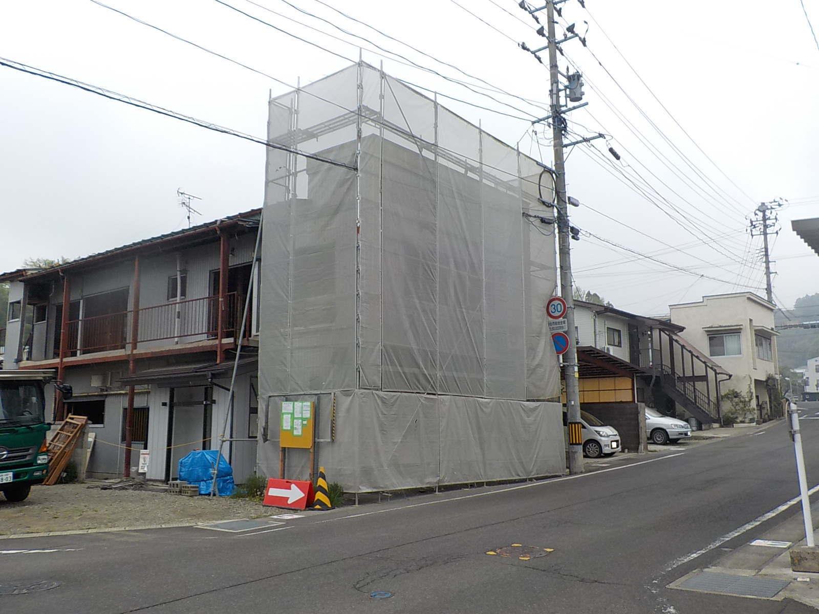 解体工事 木造住宅 施工前