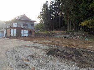 解体工事 木造住宅(一部解体) 施工後