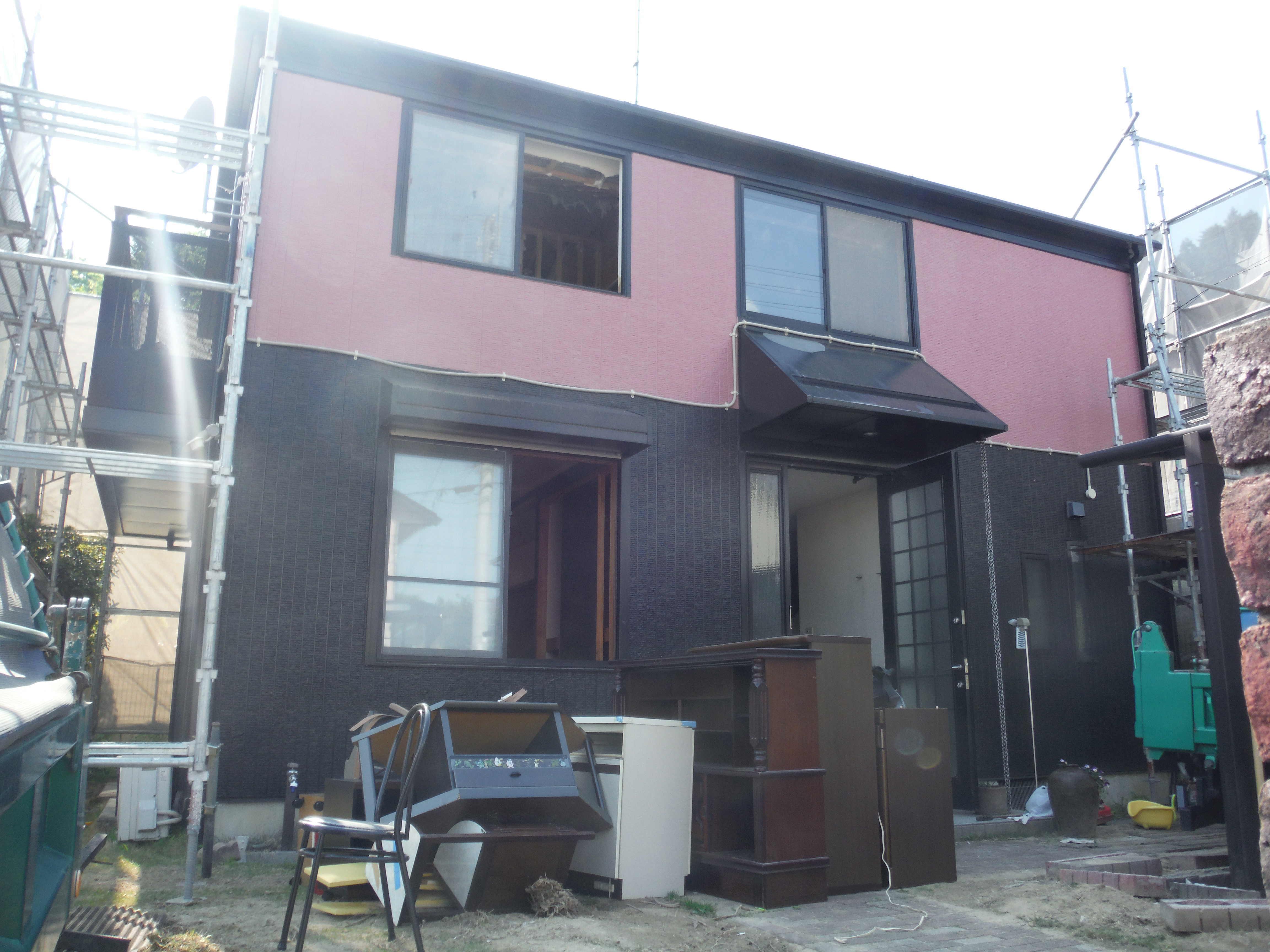 木造住宅2階建て施工前